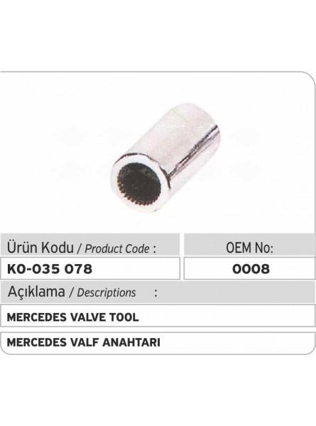 0008 Mercedes Инструмент для клапанов