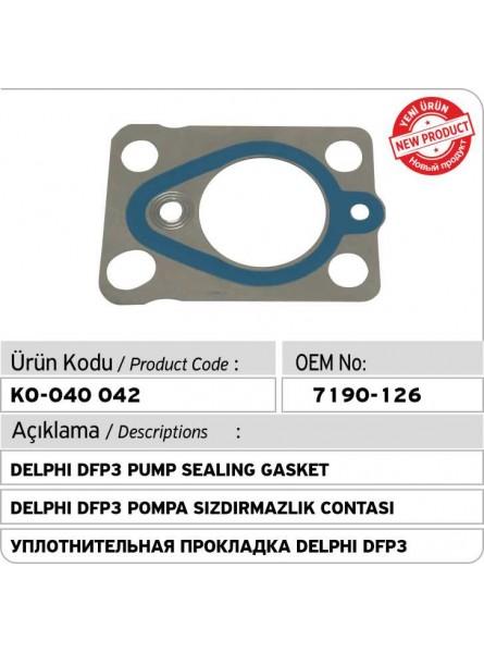7190-126 Уплотнительная прокладка DELPHI DFP3