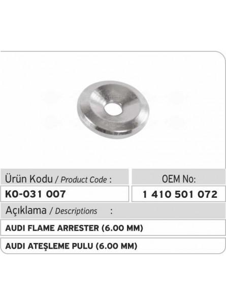 AUDI Мерный пламегаситель (6.00 MM)