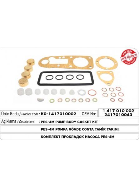 1417010002 - 2417010043 PES-4M Комплект прокладок для насоса