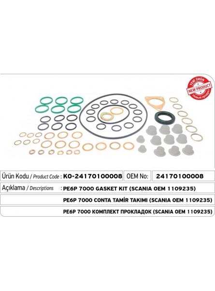 2417010008 PE6P 7000 Комплект прокладок для насоса  (SCANIA OEM 1109235)