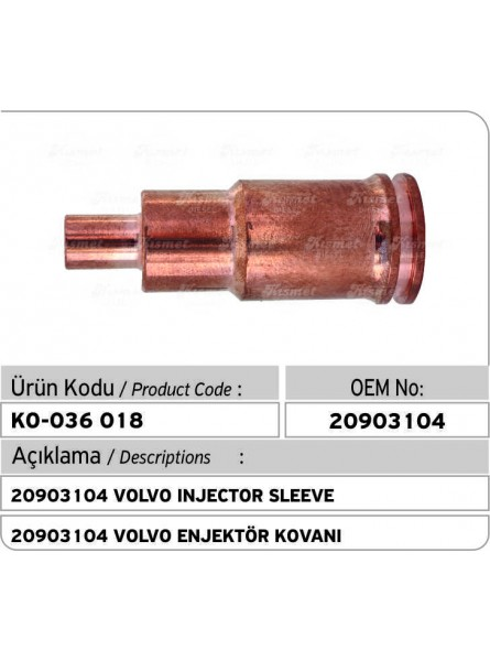 20903104 Volvo Injector Sleeve