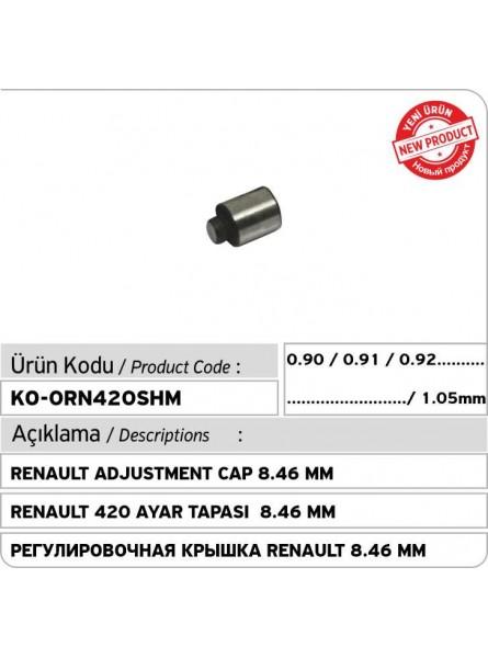 RENAULT Adjustment Cap 8.46 mm