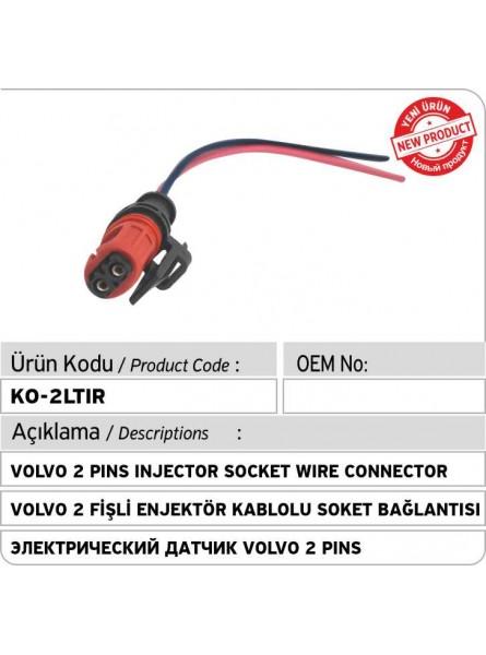 Volvo 2 Pins Электрический  датчик форсунки