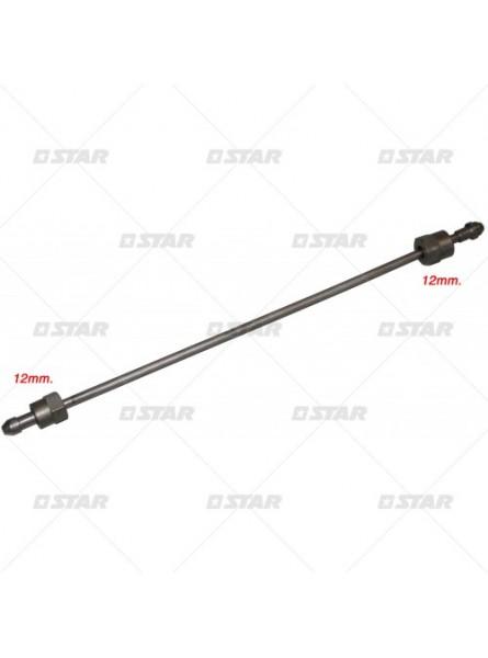 Изо-трубки m12X12X450/2