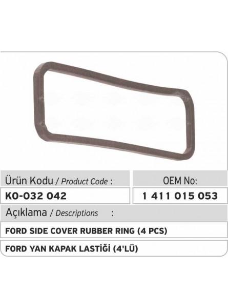 Боковая уплотнительная резина 1411015053 Ford (4pcs)