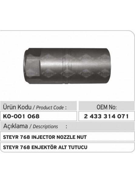 Гайка распылителя форсунки 2433314071 Steyr 768