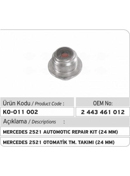 Автоматический ремкомплект 2443461012 Mercedes 2521 (24 mm)