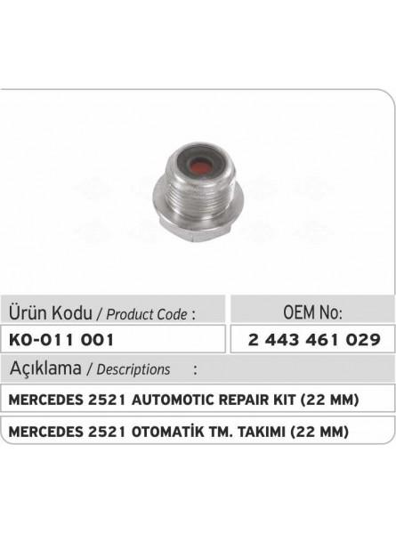 Автоматический ремкомплект 2443461029 Mercedes 2521 (22мм)