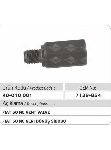 Вентиляционный штуцер 7139-854 Fiat 50 NC