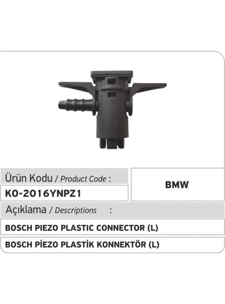 Новый Bosch Piezo пластиковый соединитель обратки (1выход)
