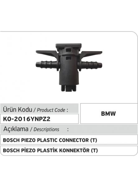 Новый Bosch Piezo пластиковый соединитель обратки форсунки (2 выходa)