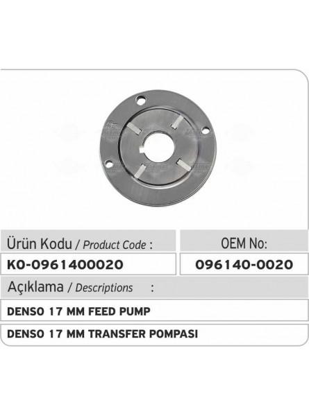 Питательный насос 096140-0020 Denso 17 mm