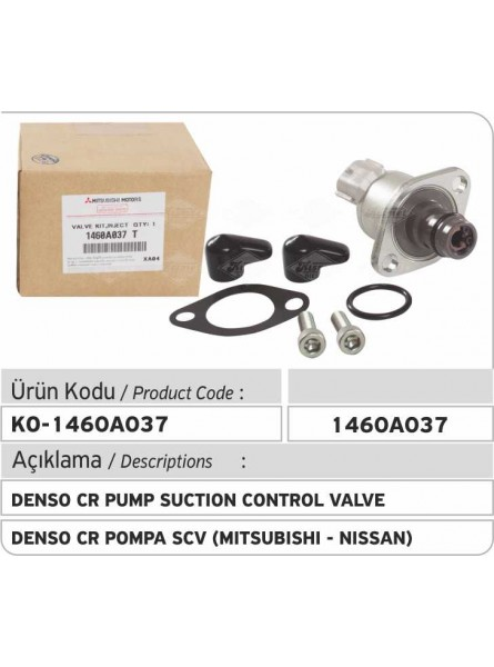 1460A037 Denso Common Rail Pump Всасывающий клапан (Mitsubishi-Nissan)