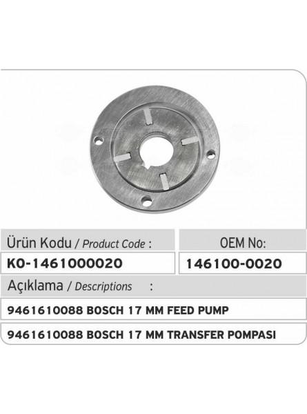 Питательный насос (146100-0020) 9461610088 Bosch 17 mm