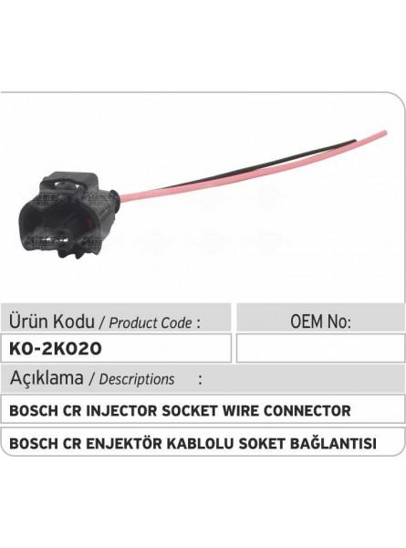 Электрический разъем форсунки Bosch Common Rail