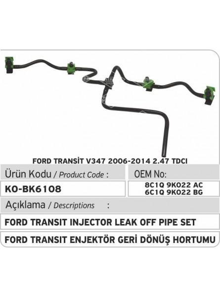Комплект топливных труб Ford Transit