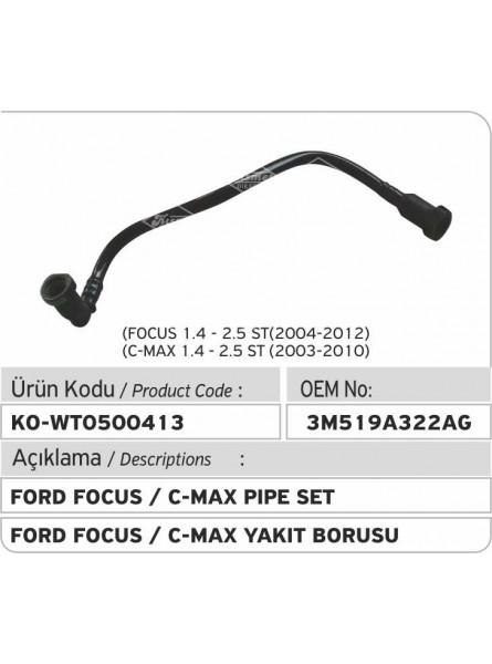 3M519A322AG Комплект труб  Ford Focus / C-Max