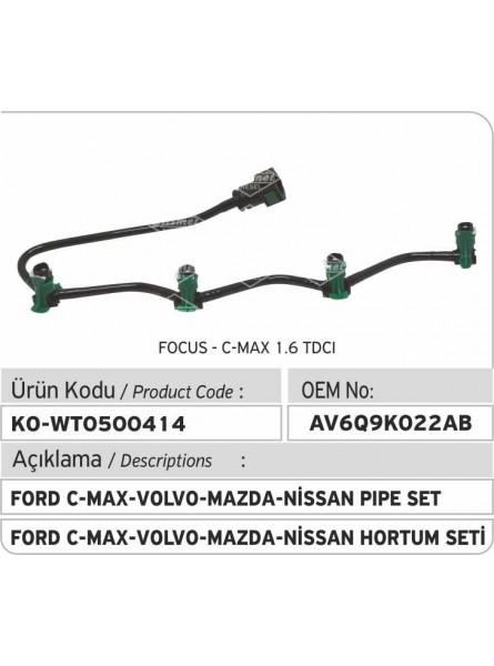 AV6Q9K022AB  Комплект труб Ford C-Max - Volvo - Mazda - Nissan