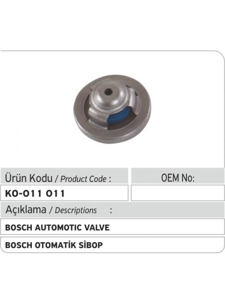 Автоматический клапан Bosch