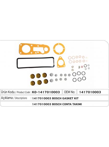 Комплект прокладок 1417010003 Bosch