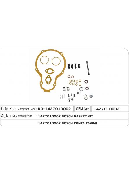 Комплект прокладок 1427010002 Bosch
