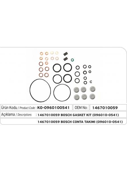 Комплект прокладок 096010-0541 Denso